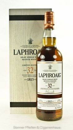 Scotch Whisky, Whisky Bar, Cigars And Whiskey, Laphroaig Whisky, Peach Drinks, St Patricks Day Drinks, Strong Drinks, Whiskey Cocktails, Single Malt Whisky