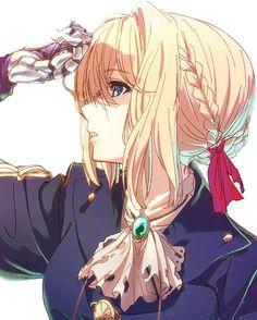 Anime,Аниме,Violet Evergarden,Violet Evergarden (character),shishamo (masato k) Fanart Manga, Chica Anime Manga, Manga Art, Anime Chibi, Kawaii Anime Girl, Anime Art Girl, Anime Girls, Violet Evergreen, Humour Geek