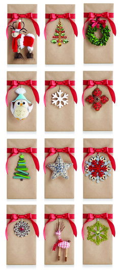 Our Tie-Ons personalize and accent any gift presentation!