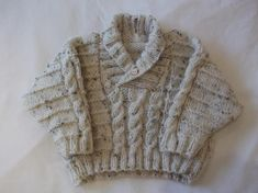 Winter Cable Sweater knitting pattern .
