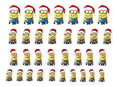 High Quality Nail Art For Every Occasion Minions Christmas >>> To view further for this item, visit the image link.