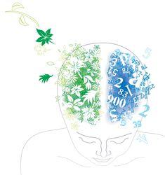 Left Brain vs Right Brain. Importance of Improving the Right Brain Skills - Awaken Mindset Learning Styles, Learning Resources, Kids Learning, Brain Memory, Right Brain, Meditation Techniques, Good Mental Health, Natural Birth, Early Childhood