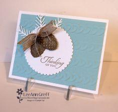Pretty Pines Cable Knit card | Flowerbug's Inkspot | Bloglovin'