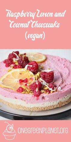 No-Bake Raspberry Chocolate Cake [Vegan, Gluten-Free] @kellysfoodblog http://www.onegreenplanet.org/vegan-recipe/raspberry-lemon-and-coconut-cheesecake/ #eatfortheplanet #vegan #veganshare #vegansofig #plantbased #plantpower #healthy #eatclean #yum #foodporn #food #veganfoodporn #veganfood #vegancooking #veggieinspired #plantbasedcooking #plantbased #veg #eatgreen #eatclean #veganfoodshare #meatfree #meatless #dairyfree #plantpower #whatveganseat