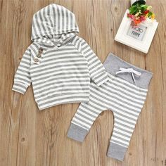 Lanhui Newborn Baby Romper for Girls Boys Ears Hoodie Toddler Coat Clothes Outfits