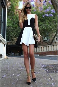 White-bcbg-dress