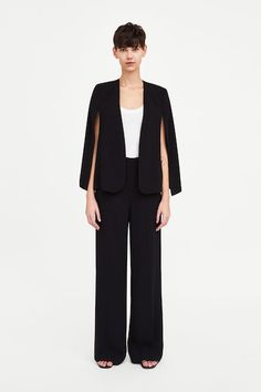 74ab624d Image 1 of FLOWING TROUSERS from Zara Trousers Women, Women's Trousers, Dress  Pants,