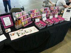 Pink Zebra Sprinkles booth Display Ideas! Love this Vendor Table, Vendor Booth, Pink Zebra Consultant, Pink Zebra Home, Pink Zebra Sprinkles, Sample Box, Vendor Events, Smell Good, Wax Melts