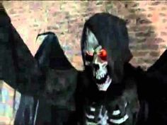 ANGEL OF DEATH - HALLOWEEN DECORATIONS AND PROPS FOR THE HOME HAUNTER, HAUNTED HOUSES AND THEME PARKS - Animated Halloween Prop, This Amazing Prop Is Production And Available From Back From The Grave.