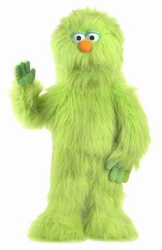 PuppetU.com - Silly Puppets Monster (Green) 30 inch Full Body Puppet, $34.99 (http://store.puppetu.com/silly-puppets-monster-green-30-inch-full-body-puppet/)