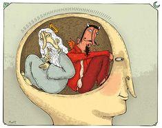 """2... (1) Conciencia moral. (2) Nuestro concepto de """"sí mismo"""". http://www.esmas.com/fundaciontelevisa/valores/conciencia.html"""