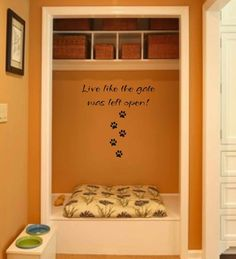 dog wall decal wall art wall vinyl decals art by VinylWallQuotes, $16.00 https://www.etsy.com/shop/VinylWallQuotes