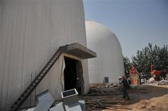 "China's First Monolithic Dome Granary Featured in China's ""Grain News"" 