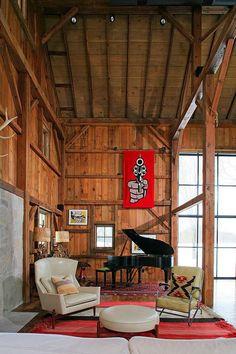 Converted 19th century barn