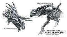 Xenomorph Dinosaurs