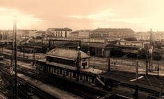 Railway Lines - Nyugati-Station, Bp-HU