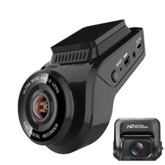Dash camera + rear Camera GPS Car Video Recorder WDR Night Vision -Affiliate Disclosure: We may earn commissions from purchases made through links in this post Car Security Camera, 1080p, Dvr Camera, Car Gadgets, Car Videos, Dashcam, Night Vision, Wifi, Autos