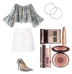 lil by lilabeth on Polyvore featuring polyvore fashion style Steve J & Yoni P Gianvito Rossi Charlotte Tilbury clothing