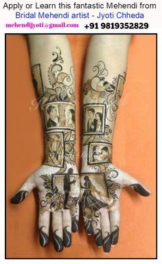 Love Story Henna - The Trending New Bridal Mehndi design Idea you'll LOVE! Latest Bridal Mehndi Designs, Modern Mehndi Designs, Mehndi Design Pictures, New Bridal Mehndi Designs, Beautiful Henna Designs, Best Mehndi Designs, Dulhan Mehndi Designs, Mehndi Designs For Hands, Mehndi Images