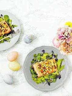 Pähkinäkuorrutettu uunilohi | K-ruoka #pääsiäinen