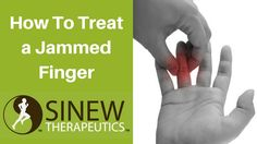 How to treat a jammed finger and speed recovery using herbal remedies the Chinese Warriors used to heal their battlefield injuries.