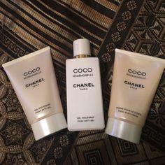 Coco Mademoiselle Gel Moussant & Body Cream Gel Moussant (Bath Gel) 1.7 OZ. & 3.4 OZ. & Creme Pour Le Corps (Body Cream) 1.7 OZ. CHANEL Other