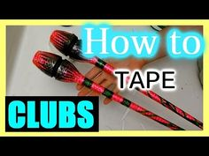 How to Tape a Hoop: Tips and Base Tape | PART 1 - YouTube