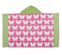 Preppy Butterfly Beach Wrap
