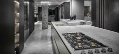 blu_line continually reimagines the kitchen Showroom, Architecture, Kitchen, Furniture, Home Decor, Arquitetura, Cooking, Decoration Home, Room Decor