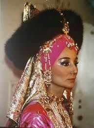 Jacqueline de Ribes at the Oriental Ball, 1969