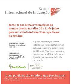 Este cartaz, que divulga o Evento Mundial de Indexação, pode ser baixado aqui (formato PDF, para imprimir): https://drive.google.com/file/d/0B6O7m2-zBpgaVjduZTRRTkg2ZkE/edit?usp=sharing