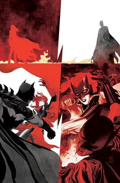 Batwoman vs. Batman by J.H. Williams III