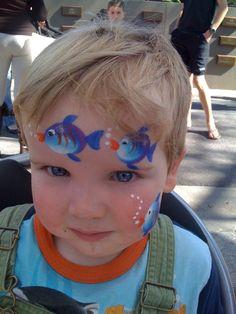 Face painting - church autumn fair