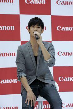 Kim Soo Hyun at Canon Fan Signing Event #6 #KimSooHyun #SooHyun #Canon