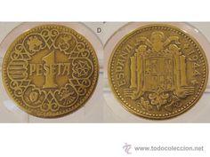 1 PESETA 1944 ESTADO ESPAÑOL European History, Retro, Nostalgia, Coins, Stamp, Seals, Vintage Posters, Childhood Memories, Life