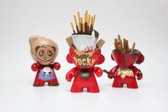 I Create Vinyl Toys Inspired By Delicious Foods   Bored Panda