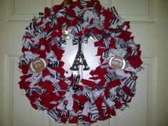 Razorback wreath I made