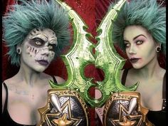Undead Cosplay Makeup - World of Warcraft - Best sound on Amazon: http://www.amazon.com/dp/B015MQEF2K -  http://gaming.tronnixx.com/uncategorized/undead-cosplay-makeup-world-of-warcraft/