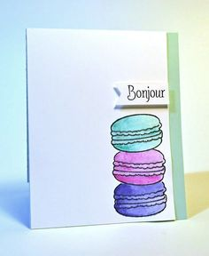 Avery Elle  - Bonjour Photopolymer Stamps, $15.00 (http://www.averyelle.com/bonjour-photopolymer-stamps/)