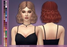 LeahLillith Soundwave hair retexture at Phaedra • Sims 4 Updates