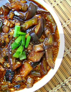 Chinese Eggplant Recipes, Eggplant Dishes, Vegan Eggplant Recipes, Eggplant Stir Fry, Vegetable Recipes, Vegetarian Recipes, Cooking Recipes, Healthy Recipes, Vegan Meals