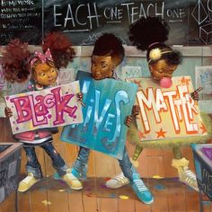 Big Words by Frank Morrison (Black Lives Matter) Frank Morrison Art, Toni Morrison, Tableau Pop Art, Natural Hair Art, Natural Glow, Black Art Pictures, By Any Means Necessary, Black Girl Art, Black Girls
