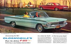 1961 Oldsmobile ad | Flickr - Photo Sharing!