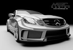 Mercedes-Benz E-Class W207 by MEC Design #mbhess #mbcars #mbtuning #mecdesign