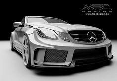 Mercedes-Benz E-Class W207 by MEC Design #mbhess #mbcars #mbtuning #mecdesign