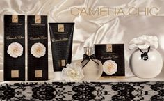 "A rich, refined gift or an experience of pure class for ourselves. ""Camelia Chic"" is one of the most precious lines by Dr.taffi"