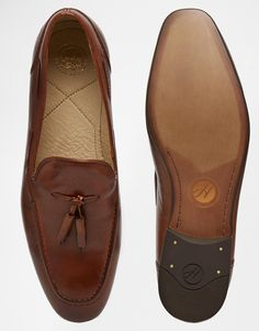 Image 3 of H By Hudson Pierre Leather Loafers