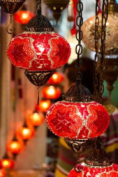 Turkish lanterns for my front balcony...