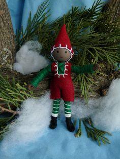 Kindness Elf African American Christmas by WildflowerInnocence