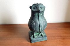 Vintage Mid Century Modern Austin Productions Owl by WolfHouse, $375.00